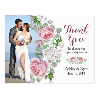 Roze van Bourgondië nam het Huwelijk van de Foto Briefkaart