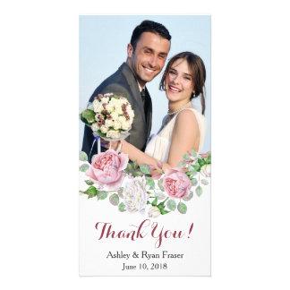 Roze van Bourgondië nam Huwelijk dankt u toe Kaart