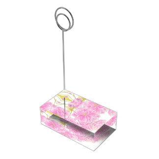 Roze van de de kunstlijst van de bloesemwaterverf