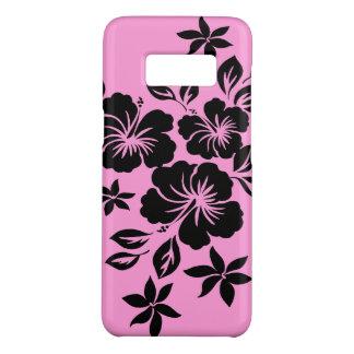 Roze van de Hibiscus van Lilikoi Hawaiiaanse Case-Mate Samsung Galaxy S8 Hoesje