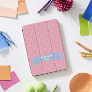 Roze van de Lolly van de Leraar van werelden het iPad Pro Hoesje