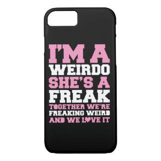 Roze van de Vrienden van Freakin het Bizarre Beste iPhone 8/7 Hoesje