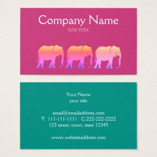 Roze van het Bedrijf van de Boutique van de Mode Visitekaartjes