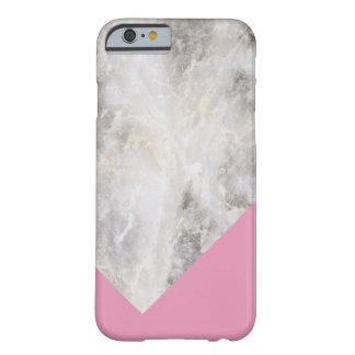 Roze van het Blok van de Kleur van Minimalistic Barely There iPhone 6 Hoesje
