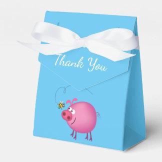 Roze Varken & de Vriendschappelijke Doos van de Bedankdoosjes