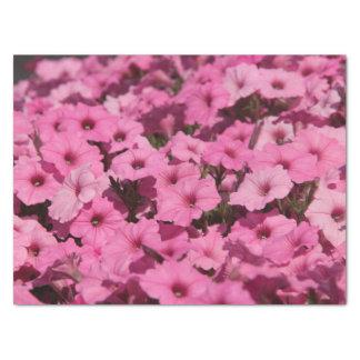 roze viooltjepapieren zakdoekje tissuepapier