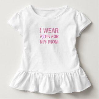 Roze voor Mijn T-shirt van de Ruche van de