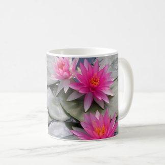 Roze Waterlelies Koffiemok
