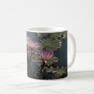 Roze Waterlilies Koffiemok