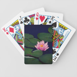 Roze Waterlily Lotus, Speelkaarten Pak Kaarten