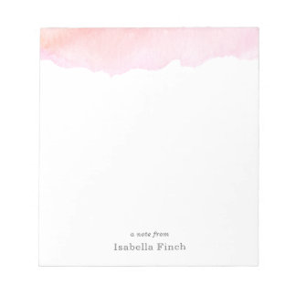 Roze Waterverf Notitieblokken