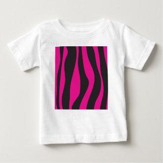 Roze zebra baby t shirts