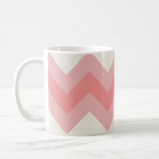 Roze Zig Zig Koffiemok