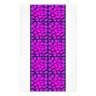 Roze & Zwart Patroon Folders