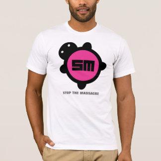 Roze/Zwarte T Shirt