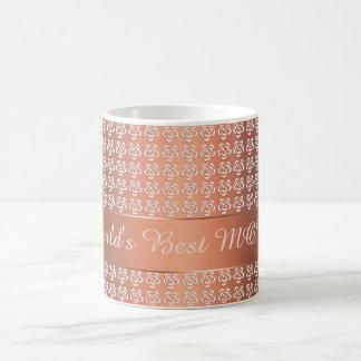 rozen patroon koffiemok