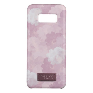 Rozen van de Waterverf van Girly de Roze Case-Mate Samsung Galaxy S8 Hoesje