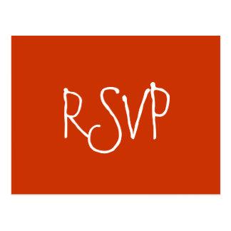 RSVP - Briefkaart