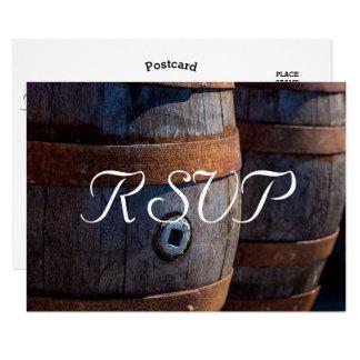 RSVP - het Rustieke Wijnvat van de Wijngaard van Kaart