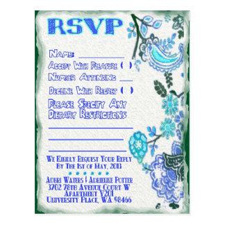 RSVP van Adrienne Briefkaart