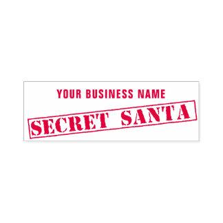 RubberZegel van de Kerstman van de Handelsnaam van Zelfinktende Stempel
