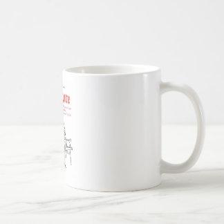 Ruddigore gegoten koffiemok