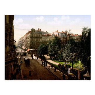 Rue d'Alsace-Lotharingen Toulouse Frankrijk Briefkaart
