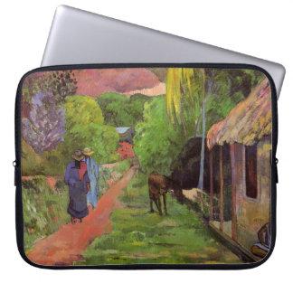 """""""Rue DE Tahiti"""" - Paul Gauguin Computer Sleeve"""
