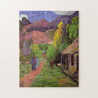"""""""Rue DE Tahiti"""" - Paul Gauguin Legpuzzel"""
