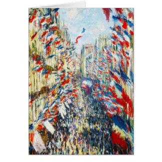 Rue Montorgueil, Parijs, Festival van Juni Kaart