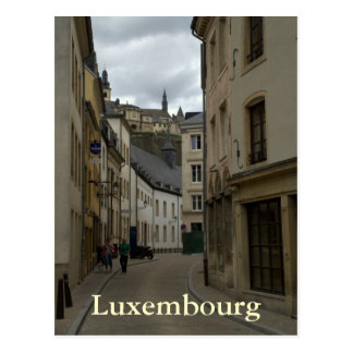 Rue Münster, Grund, Luxemburg Briefkaart