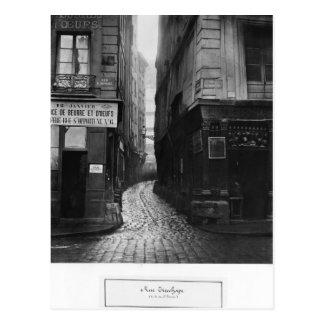Rue Tirechape, van rue St. Honore, Parijs Briefkaart
