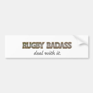 RUGBY BUMPERSTICKER