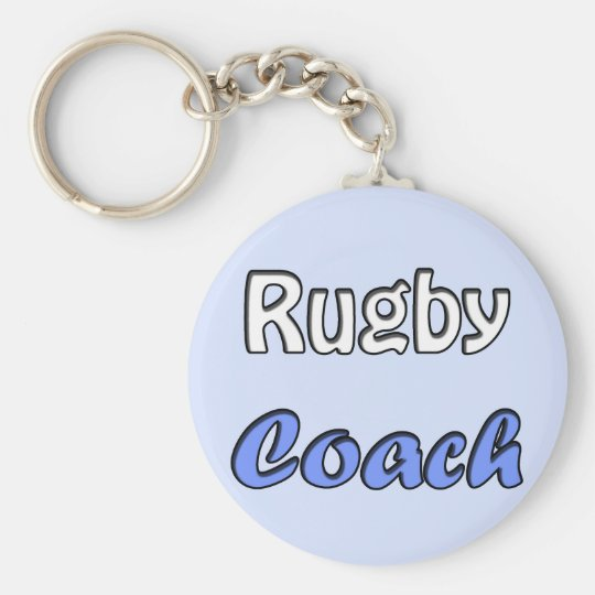 Rugby Coach Sleutelhanger