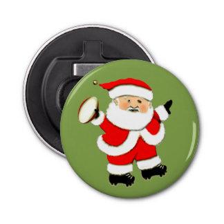 rugby Kerstmis Button Flesopener