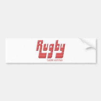 Rugby LIFE stijl Bumpersticker