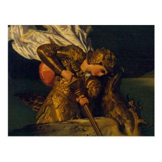 Ruggiero die Engelwortel redden Briefkaart