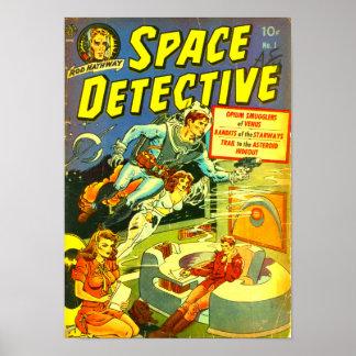 Ruimte Detective -- De Smokkelaars van de opium Poster