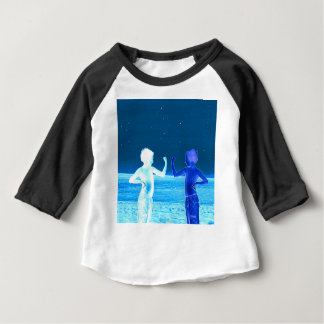 Ruimte jongens baby t shirts