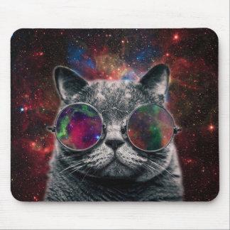 Ruimte Kat die Beschermende brillen voor de Muismatten