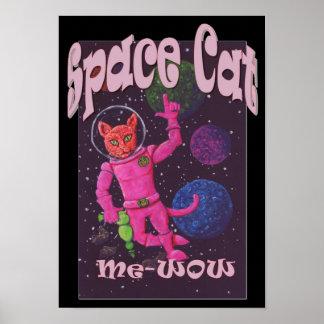 Ruimte Kat Poster