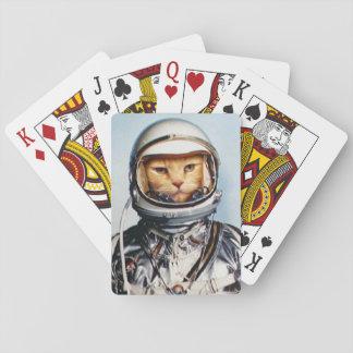 Ruimte Kat Speelkaarten