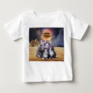 ruimte katten die de hamburger zoeken baby t shirts