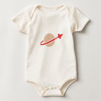 Ruimte Klassiek Logo voor Baby/Baby Baby Shirt