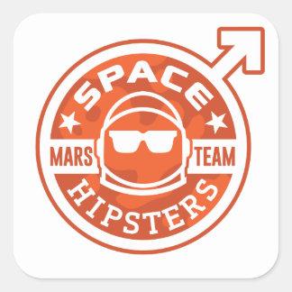 """Ruimte TEAM 3 van Hipsters® MARS"""" Stickers"""