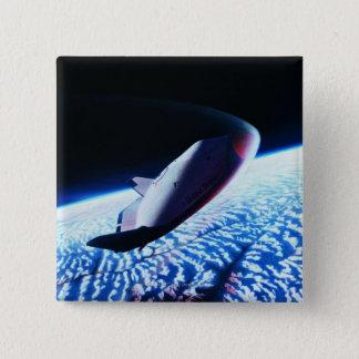 Ruimtependel 3 vierkante button 5,1 cm