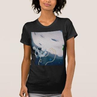 Ruimtevaarder en Maan T Shirt