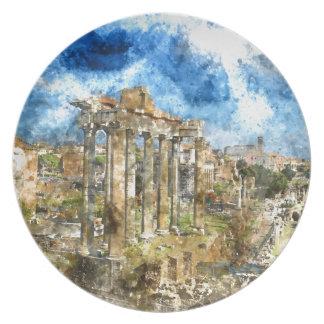 Ruïnes in Rome Party Borden