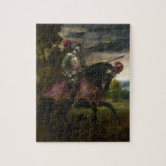 Ruiter Portret van Charles V door Titian Puzzel