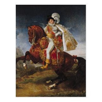 Ruiter Portret van Jerome Bonaparte 1808 Briefkaart